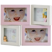 Lawrence Frames Multi Opening Picture Frame; Pink
