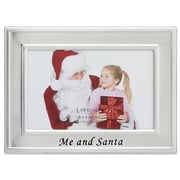 Lawrence Frames Me and Santa Picture Frame