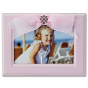 Lawrence Frames Baby Ribbon Picture Frame; Pink
