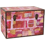 Oriental Furniture Avant Garde Collage Trunk