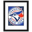 Photo File Inc MLB Logo Framed Photo; Toronto Blue Jays