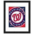 Photo File Inc MLB Logo Framed Photo; Washington Nationals