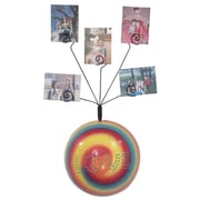 Metrotex Designs Girly Chic Tie Dye LOVE Wall Photo Bubble; Red
