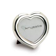 Krysaliis Heart Sterling Silver Picture Frame