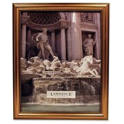 Lawrence Frames Classic Design Gold Picture Frame; 8'' x 10''
