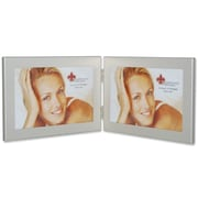 Lawrence Frames Hinged Double Picture Frame; 6'' x 4''