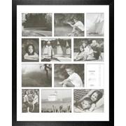 Timeless Frames Decorator's Choice Collage Twelve Photo Frame; Black