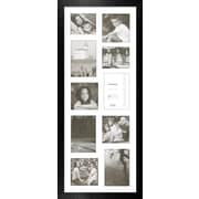 Timeless Frames Decorator's Choice Collage Ten Photo Frame; Black