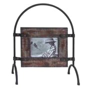 Woodland Imports Wood Metal Picture Frame