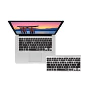 KB Covers Japanese Keyboard Cover For MacBook, Clear/Black
