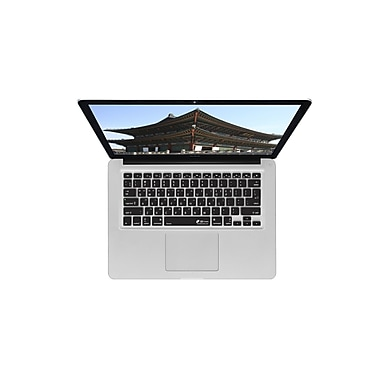 KB Covers Korean Keyboard Cover For MacBook, Black