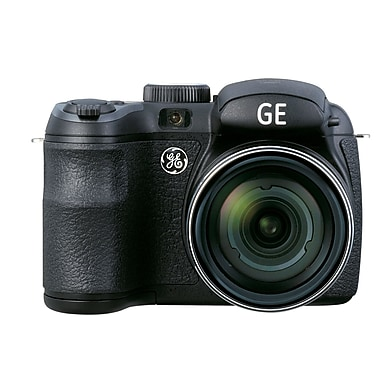 GE® Power Pro x550 16MP 15x Optical Zoom Digital Camera, Black