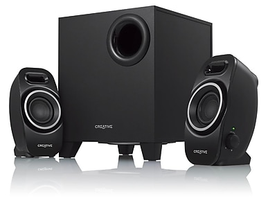 Creative Labs A250 9 W 2.1 Speaker System Black