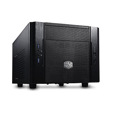 Cooler Master® Elite 130 Mini ITx Water Cooli Computer Case, Midnight Black