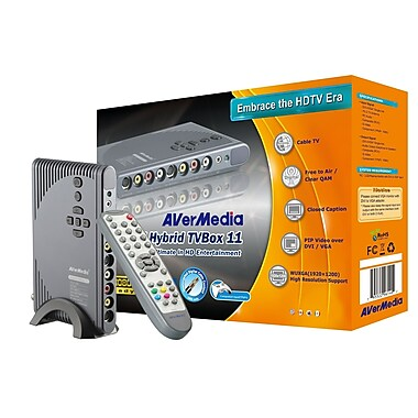 AverMedia® AVerTV Hybrid TVBox 11 Tuner