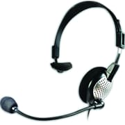 Andrea NC-181 USB High Fidelity Over The Head Monaural PC Headset, Black