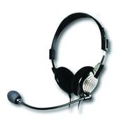 Andrea PureAudio NC-185 VM USB High Fidelity Stereo Headset, Black