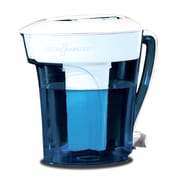 Zero Water® ZP010 Water Filter Pitcher, Blue/White, 10 Cup