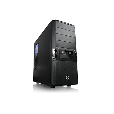 Thermaltake V3 Black Edition VL84521W2U ATx12V 2.2 Computer Case Power Supply Unit, 450W, Black