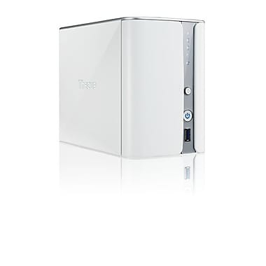 Thecus® N2520 Soho/Home NAS Server, White
