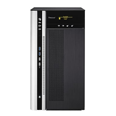 Thecus® N10850 10 Bay Top Tower Large Business NAS Server, Black/White