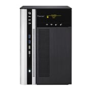 Thecus® N6850 Intel Pentium G620 CPU Top Tower Large Business NAS Server, Black/White
