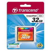 Transcend® 32GB 133x Type I Compact Flash Memory Card