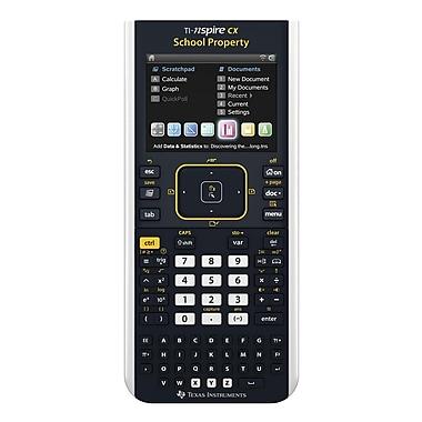 Texas Instruments TINSPIRECXEZTRP Spot Teacher Pack Graphing Calculator, Black