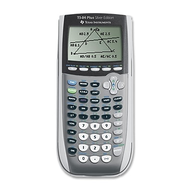 Texas Instruments TI-84 Plus Silver Edition Graphing Calculator with USB Cable, GraySorry, this item is currently out of stock.