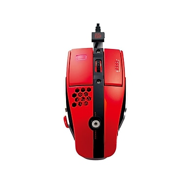 Thermaltake® eSPORTS Level 10 M Laser Gaming Mouse,  Blazing Red