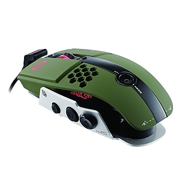Thermaltake® eSPORTS Level 10 M Laser Gaming Mouse, Military Green
