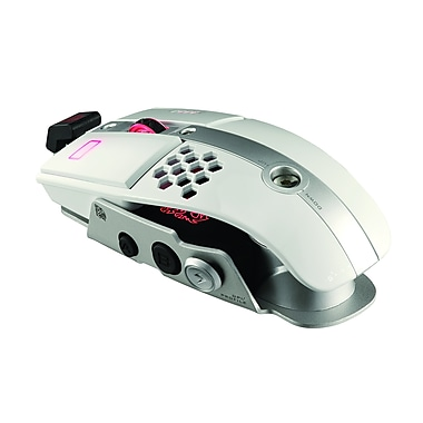 Thermaltake® eSPORTS Level 10 M Laser Gaming Mouse, Iron White