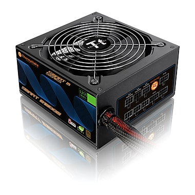 Thermaltake Smart M1200W ATx12V/EPS12V Power Supply Unit, 1200W, Black