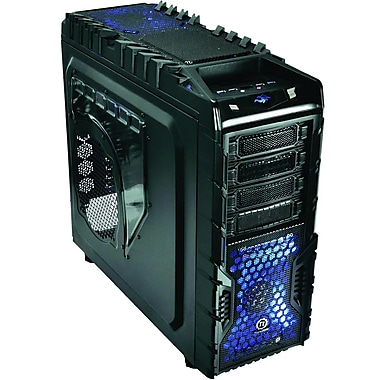 Thermaltake® Overseer Rx-I ATx Full Tower Computer Case, Black