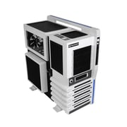 Thermaltake® Level 10 GT Snow Edition ATx Full Tower Computer Case, Black/White
