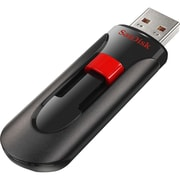 SanDisk® Cruzer Glide SDCZ60 16GB USB 2.0 Flash Drive, Black/Red