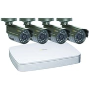 Q-See™ Lite Series 4 Channel 2CIF DVR Security System With 4 480TVL CMOS Camera