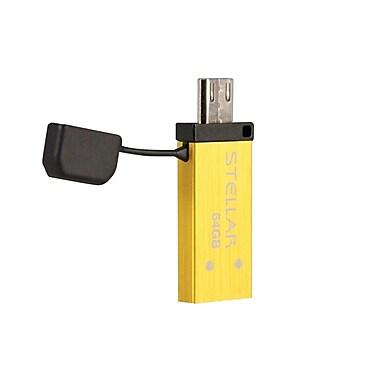 Patriot – Clé USB 3.0/OTG Stellar, 64 Go, jaune