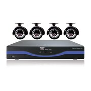 Night Owl L-45-4511 4 Channel 960H DVR W/500GB HDD 4 Camera Security System