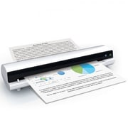Mustek iScan Air S400W Color Sheetfed Scanner, White/Black