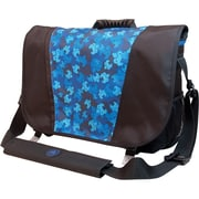 Mobile Edge Sumo® Messenger Bag For Apple MacBook Pros Up to 17, Black/Blue