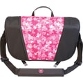 Mobile Edge Sumo® Messenger Bag For Apple MacBook Pros Up to 17in., Black/Pink