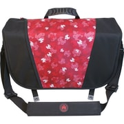Mobile Edge Sumo® Messenger Bag For Apple MacBook Pros Up to 17, Black/Red