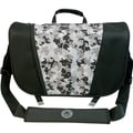 Mobile Edge Sumo® Messenger Bag For Apple MacBook Pros Up to 17in., Black/Silver