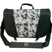 Mobile Edge Sumo® Messenger Bag For Apple MacBook Pros Up to 17, Black/Silver