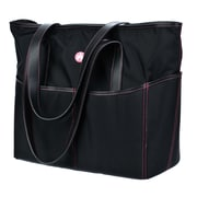 Mobile Edge Sumo® Large Travel Tote For Notebook, Black/Pink