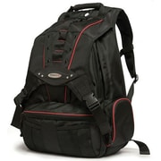 "Mobile Edge Premium Backpack For 17.3"" Laptop, Black/Red"