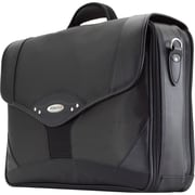 Mobile Edge Premium Briefcase For 17.3 Notebook, Charcoal/Black