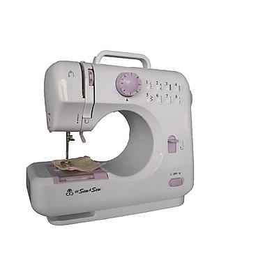 Michley Tivax LSS-505Lx 8-Stitch Desktop Sewing Machine, White