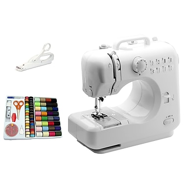 Michley Electronics LSS-505 COMBO Desktop Sewing Machine, White